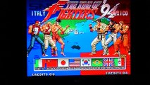 265eme Test the king of fighters 94 sur NEOGEO