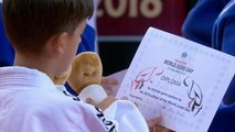 Judo sends a message of peace to the world during the Abu Dhabi Grand Slam on World Judo Day