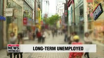 Number of long-term jobseekers hits record high in Korea