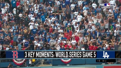 World Series Game 5 Highlights: Red Sox vs. Dodgers