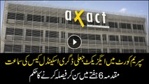 Hearing of Axact Fake degree case in SC, decision to be made in 6 weeks