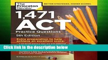 F.R.E.E [D.O.W.N.L.O.A.D] 1,460 Act Practice Questions (College Test Prep) by Princeton Review