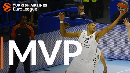 EuroLeague MVP for October: Walter Tavares, Real Madrid