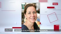 """Alsace: des nouvelles compétences """"liées à la situation transfrontalière des deux départements"""" explique Fabienne Keller"""