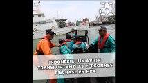 Indonésie: Un avion transportant 189 personnes s'abîme au large des côtes