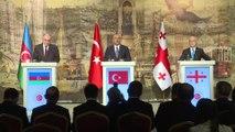 'Türkiye-Azerbaycan-Gürcistan Üçlü Dışişleri Bakanları Toplantısı' - Mevlüt Çavuşoğlu - İSTANBUL