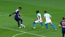 Olympique de Marseille - Paris Saint-Germain: Neymar Jr skills