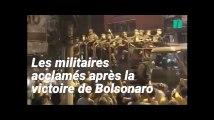 Au Brésil, l'armée acclamée dans les rues après la victoire de Bolsonaro