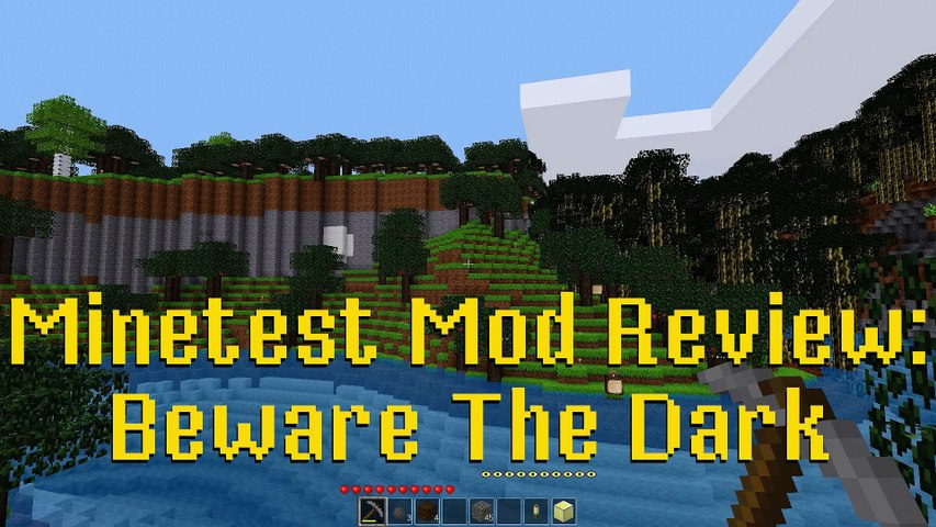 Minetest Mod Review: Beware The Dark