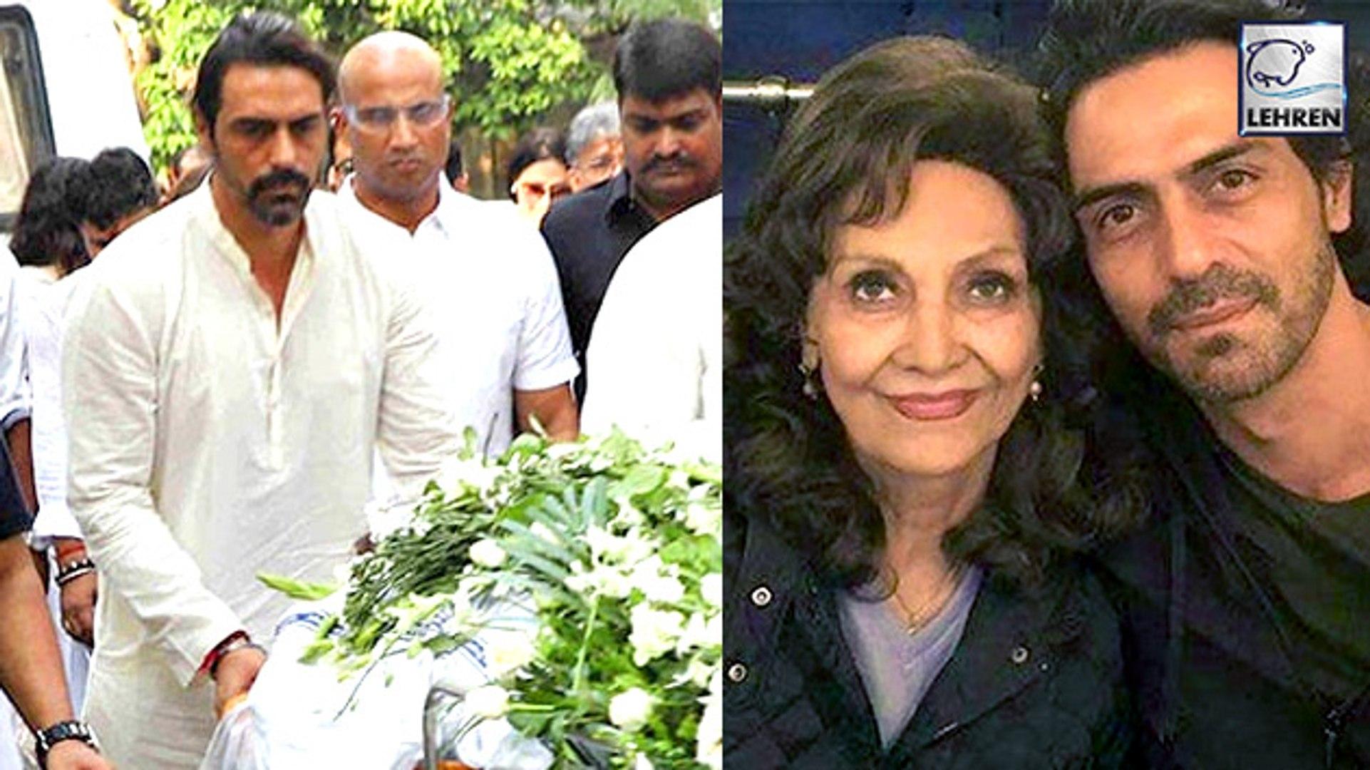 Arjun Rampal's Mother Gwen Rampal Passes Away: Mehr, Gabriella Attend Last Rites