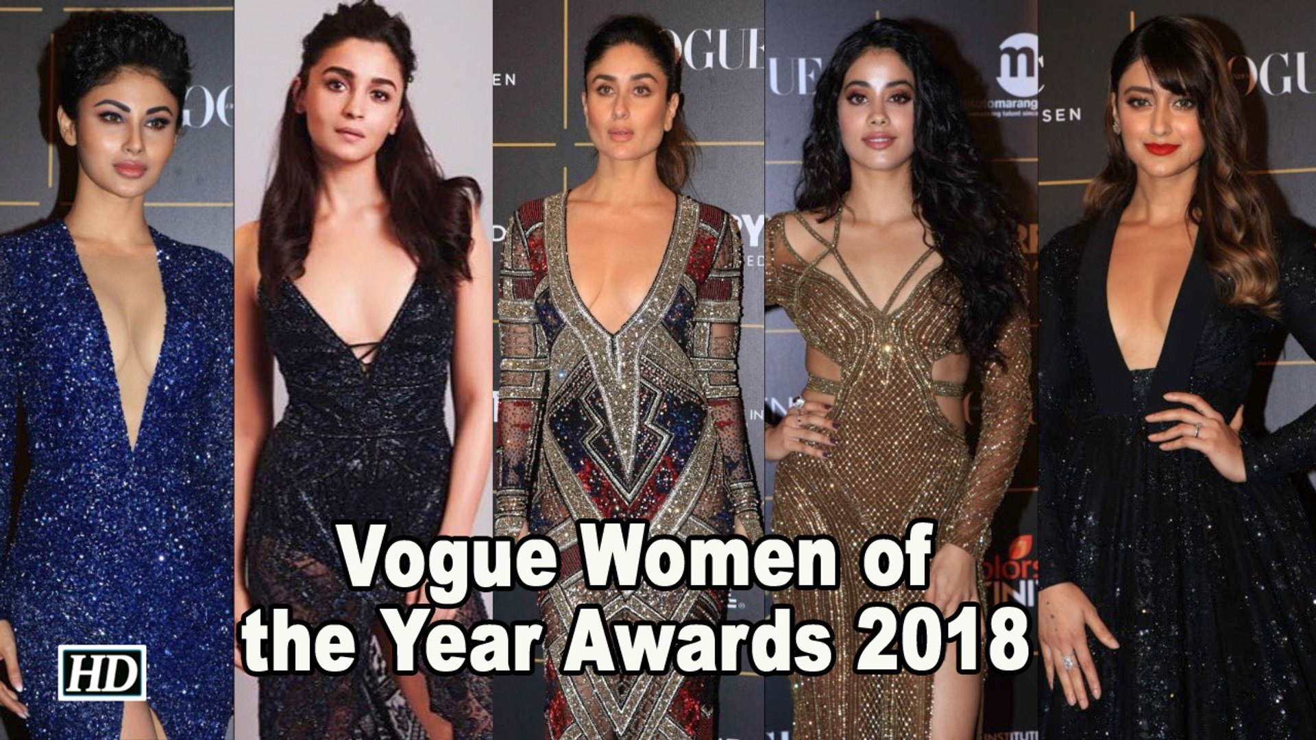 Fashion Gallore at Vogue Women of the Year Awards 2018