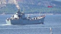 Çanakkale Rus Savaş Gemisi, Çanakkale Boğazı'ndan Geçti