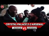 Crystal Palace 2-2 Arsenal | Sokratis Should Be Playing Instead Of Mustafi! (Troopz)
