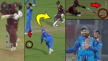 India vs West Indies; 4th ODI: Amazing Catch By Virat Kohli