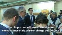 Réunion de la commission des lois au centre pénitentiaire de Fresnes - Mercredi 17 octobre 2018