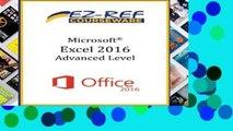 D.O.W.N.L.O.A.D [P.D.F] Microsoft Excel 2016 - Advanced: Student Manual (Black   White)