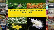 F.R.E.E [D.O.W.N.L.O.A.D] Backyard Medicine For All: A Guide to Home-Grown Herbal Remedies [P.D.F]