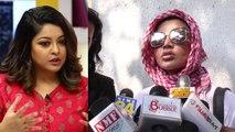 Rakhi Sawant files Defamation Case of 25 paise against Tanushree Dutta; Watch Video | FilmiBeat