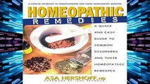 D.O.W.N.L.O.A.D [P.D.F] Homeopathic Remedies: A Quick and Easy Guide to Common Disoders and Their
