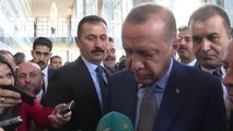 """Cumhurbaşkanı Erdoğan: """"(Melih Gökçek) Melih Bey Benim 94'ten Beri Yol ve Dava Arkadaşım"""""""