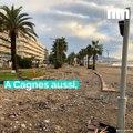 Les intempéries font de violents dégâts sur la Côte d'Azur