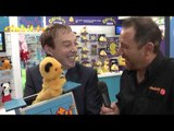 Sooty Shoots TV Presenter with a Water Pistol