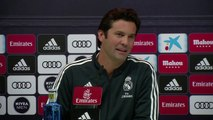 """Ambient:""""Let's leave him in peace in his greatness""""Solari on Zinedine Zidane"""