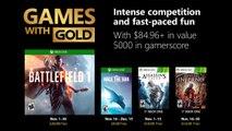 Xbox Games with Gold noviembre 2018