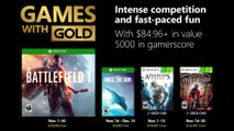 "Xbox Games with Gold - ""November 2018"" Trailer"