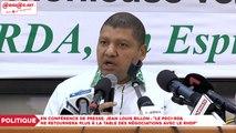 """Parti unifié RHDP : Jean Louis Billon,""""Le PDCI-RDA ne retournera plus à la table des négociations"""""""
