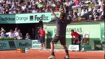 Roger Federer vs Novak Djokovic - Roland Garros 2012 SF [Highlights HD]