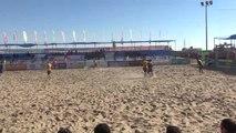 Plaj Futbolunda Şampiyon Erciş Belediyespor