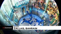 Gravity-defying indoor skydivers go for World Cup gold
