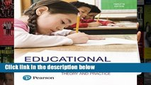[P.D.F] Educational Psychology: Theory and Practice with Mylab Education with Enhanced Pearson