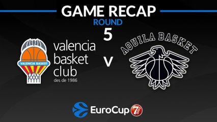 7Days EuroCup Highlights Regular Season, Round 5: Valencia 87-66 Trento