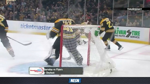 Bruins Breakaway Live: Jaroslav Halak Dazzels Agains Flyers