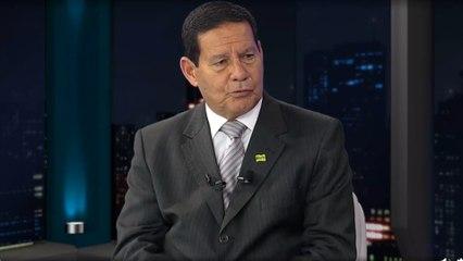Mourão defende conversa com a oposição e que Bolsonaro baixe o tom