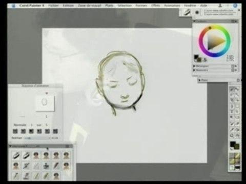 Comment faire un dessin animé sur PainterX