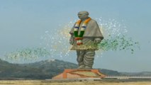 Statue Of Unity: Watch the grand laser show at inauguration of Sardar Patel's statue | Oneindia News