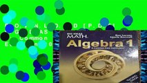 FREE [DOWNLOAD] BIG IDEAS MATH Algebra 2: Common Core
