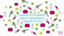 Infographie : Stratégie de Paris pour une alimentation durable
