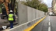 À Marseille, un mur de béton fait polémique