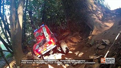 Rc Scale Camion de Pompier 4x4 après Travaux
