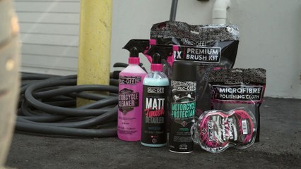 Cleaning Your Motorcycle With Muc-Off