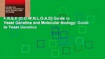 F.R.E.E [D.O.W.N.L.O.A.D] Guide to Yeast Genetics and Molecular Biology: Guide to Yeast Genetics