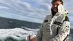 Route du Rhum. Sortie en mer avec Arthur Hubert sur son Class40 Audi Saint-Malo/Espoir pour un Rhum