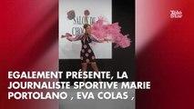PHOTOS. Natasha St-Pier, Jeanfi Janssens, Joyce Jonathan... le défilé des célébrités au Salon du Chocolat 2018
