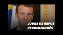 Comme Emmanuel Macron à la Toussaint, suffit-il de s'arrêter quelques jours pour se reposer?