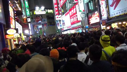 【2018/10/31】 Shibuya Halloween 2018 Scrambled Intersection 1