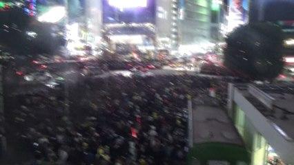 【2018/10/31】 Shibuya Halloween 2018 Scrambled Intersection 2